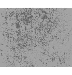 Grey grunge textured wall vector image