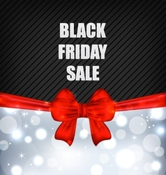 Advertising Background for Black Friday Sales vector image
