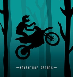 Extreme sport design vector image