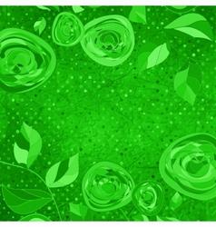 Vintage Floral Roses Pattern vector image