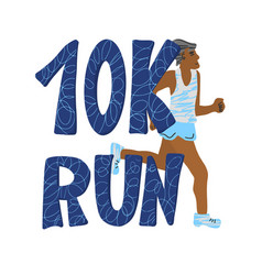 10 k run text isolated text vector