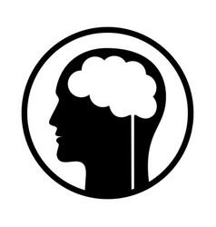 brain 3 vector image