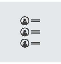Ranking icon vector image