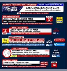 Set media labels eps10 vector