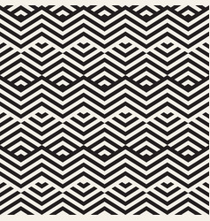 abstract zigzag parallel stripes stylish ethnic vector image