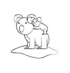 cartoon animal icon vector image