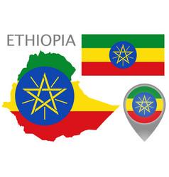 ethiopia vector image