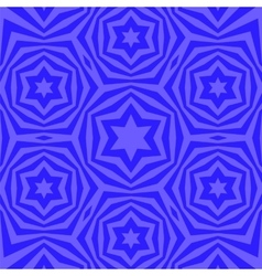 Geometric david star background vector