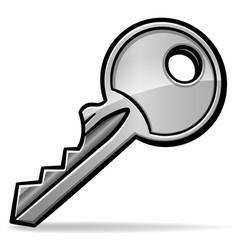 key cartoon isolated design vector image