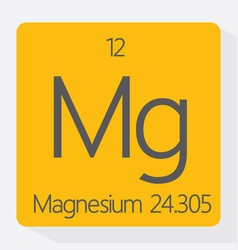 magnesium vector image