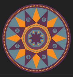 Mandala ethnic image vector