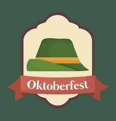 Oktoberfest festival design with icon vector
