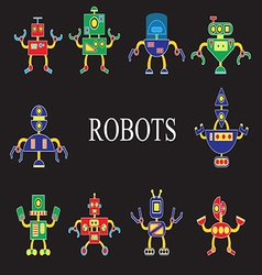 Robots the invader or friend vector