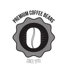 White background of logo design of emblem vector