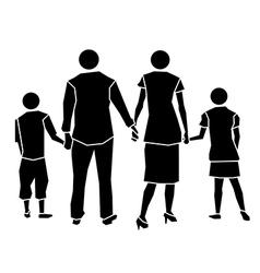 family icon concept vector image