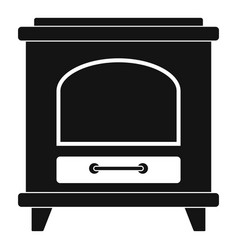 ancient oven icon simple style vector image