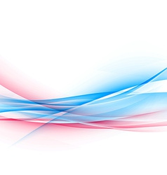 Dynamic two bright color swoosh speed wave vector image vector image