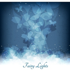 abstract magic lights background good template vector image