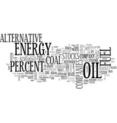 Alternative energy in ireland text word cloud vector