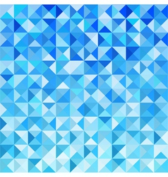 Blue Mosaic Background Wallpaper vector
