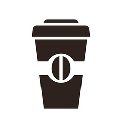 Coffee to go icon vector image