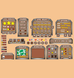 Game gui 32 vector