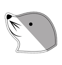 Sea lion cartoon vector