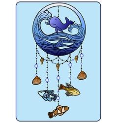 Sea Mobile vector image