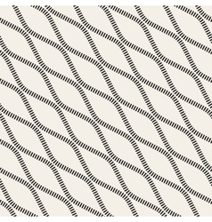 Seamless Black and White Diagonal Stripy vector