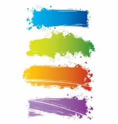 color line vector image vector image