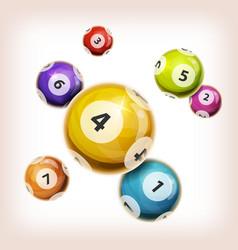 Snooker balls background vector