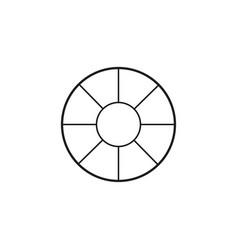 pantone icon vector image