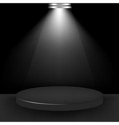 Spotlight Presentation Room vector image