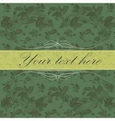vector vintage card vector image vector image