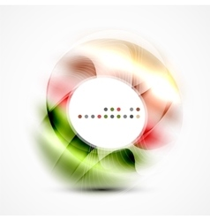 Abstract blurred swirl vector