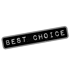 Best Choice rubber stamp vector