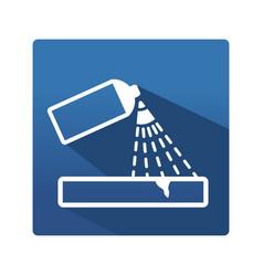 capillary control icon vector image