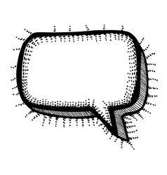 Cartoon image of chat icon speech bubble symbol vector