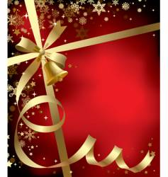 Christmas & New-Year's background vector image
