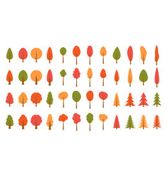 colorful christmas trees seamless pattern backgrou vector image