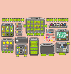 Game gui 34 vector