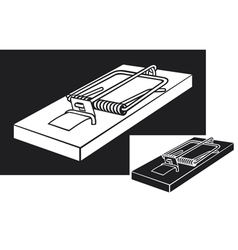 Mousetrap vector