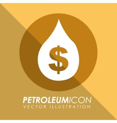 Petroleum icon vector