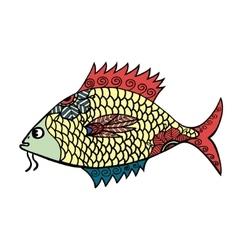 stylized Fish vector image