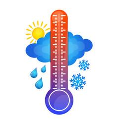 Symbol temperature change vector