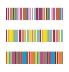 vertical colorful stripes abstract background vector image