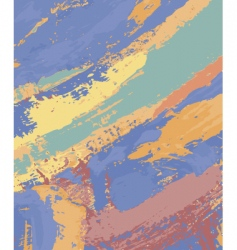 Abstract painting vector