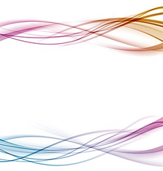 Modern abstract transparent background with lines vector image vector image