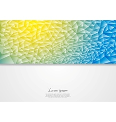 Abstract corporate design vector