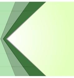 Abstract green corporate tech art vector